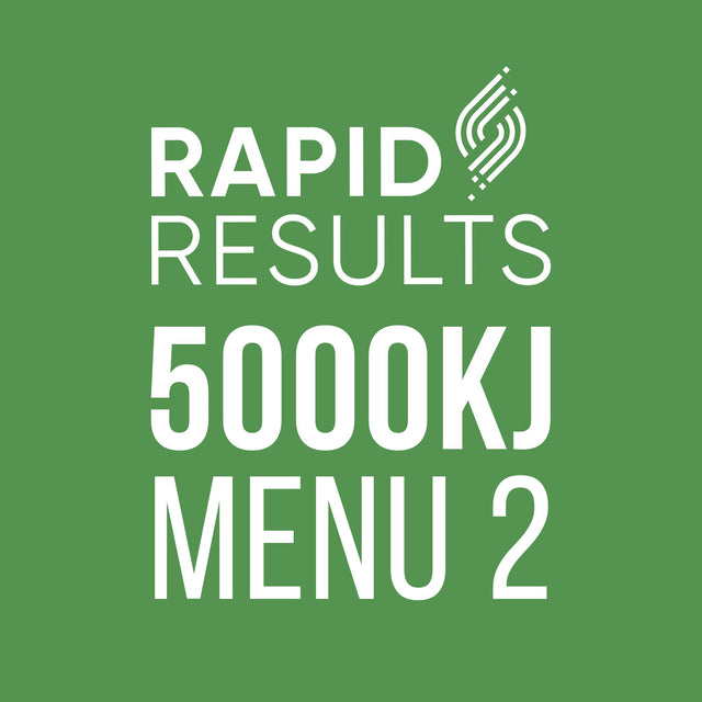 Rapid Results 5000kJ Menu 2