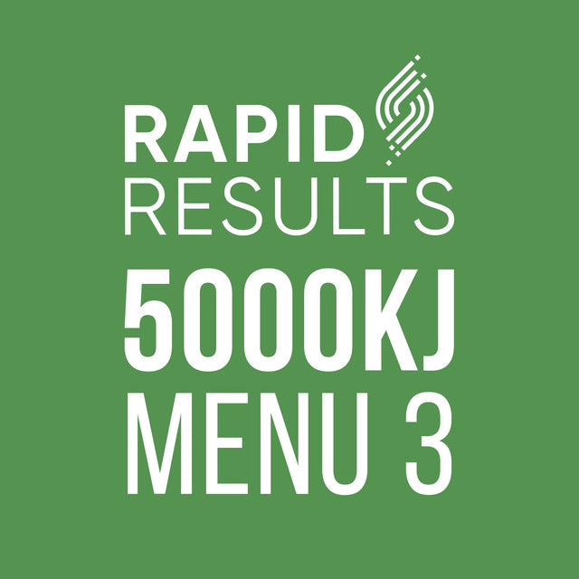 Rapid Results 5000kJ Menu 3