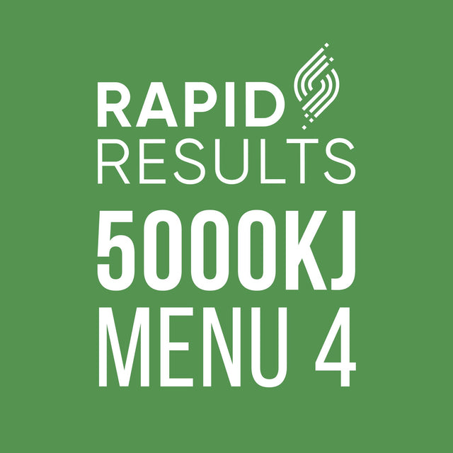 Rapid Results 5000kJ Menu 4