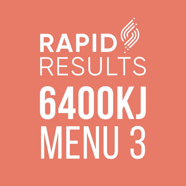 Rapid Results 6400kJ Menu 3