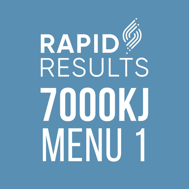 Rapid Results 7000kJ Menu 1
