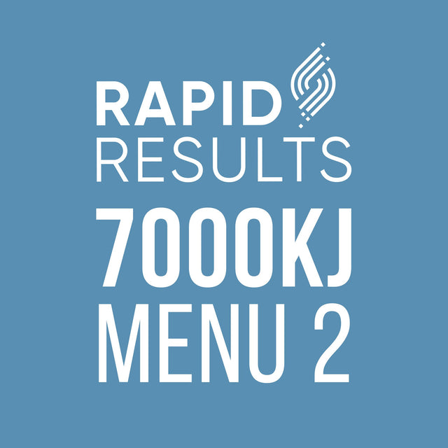 Rapid Results 7000kJ Menu 2