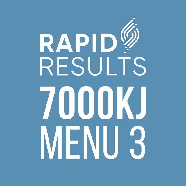 Rapid Results 7000kJ Menu 3