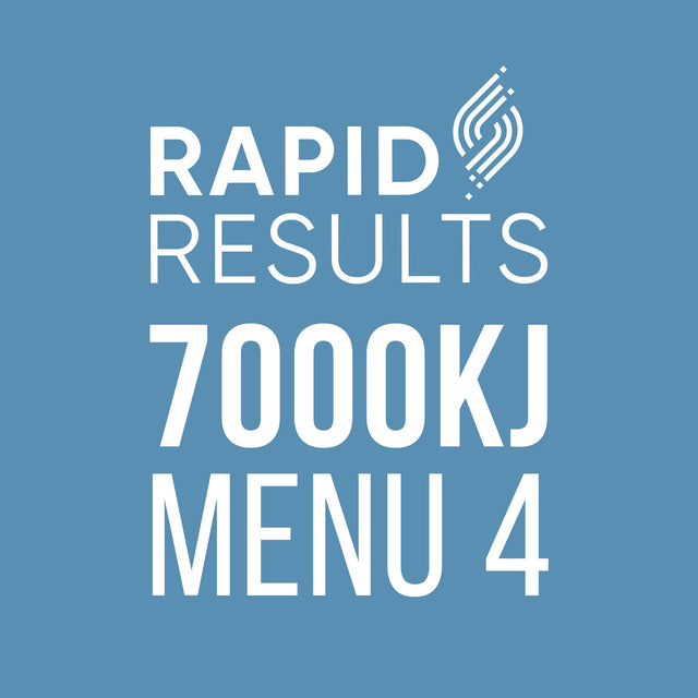 Rapid Results 7000kJ Menu 4