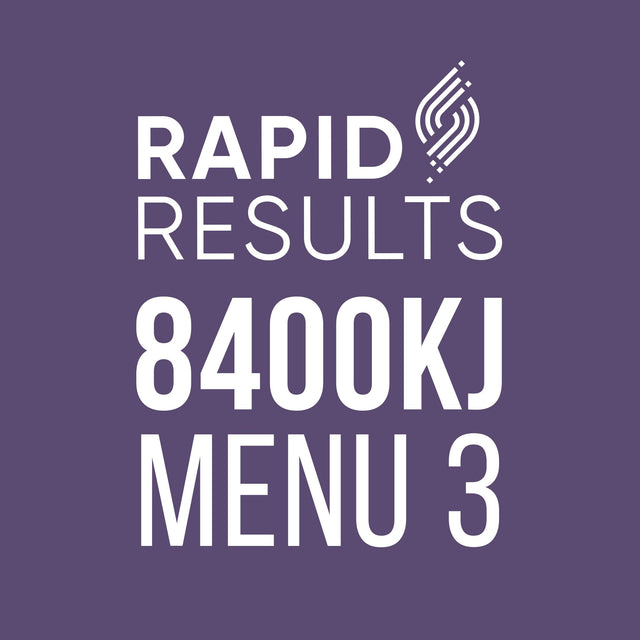 Rapid Results 8400kJ Menu 3