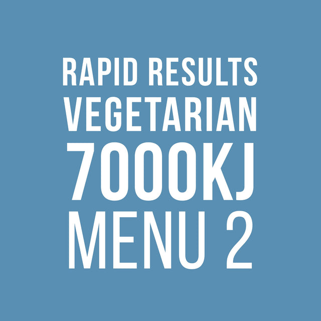 Rapid Results 7000kJ Vegetarian Menu 2