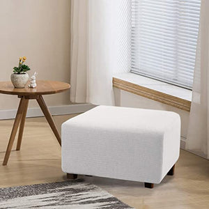 Stretchy Washable Ottoman Slipcovers