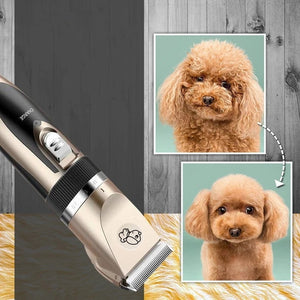 Professional Low Noise Dog Clippers|Rechargeable Pet Hair Grooming Clippers Kit for Small and Large Dogs Cats Animals