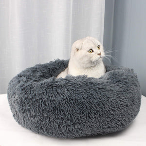 Calming  Pet Bed|Soft, Comfy and Fluffy Cat & Dog Bed