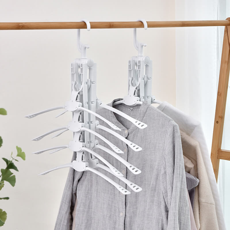 8-in-1 Space Saving Collapsible Hanger