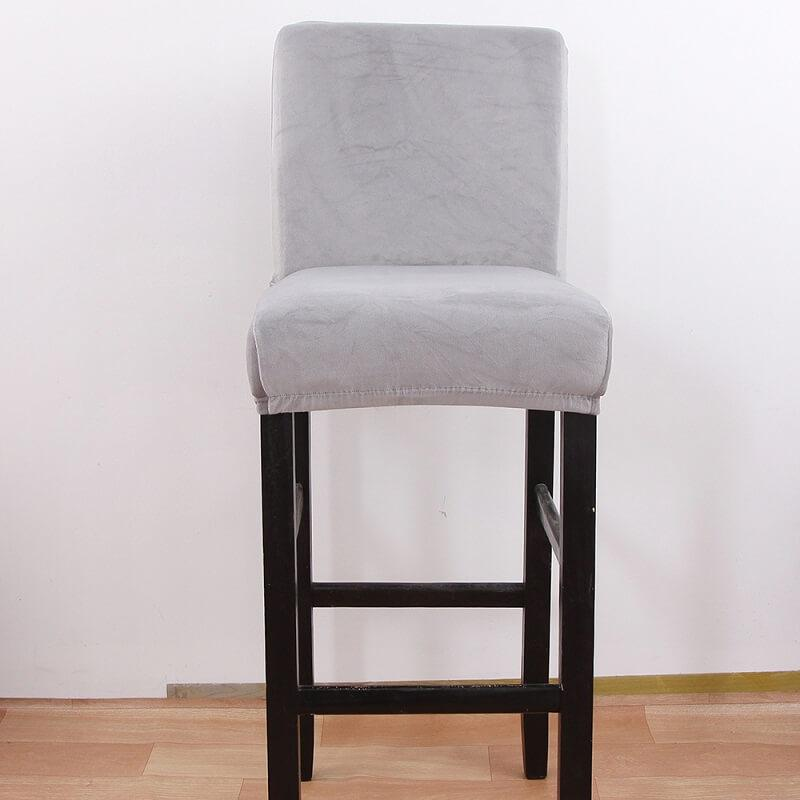 Velvet Stretch High stool covers