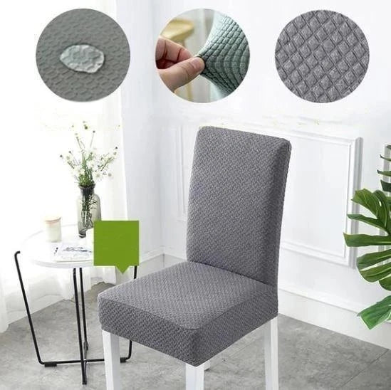 Removable Dining Room Washable Spandex Banquet Chair Cover Kitchen Stretch Hotel