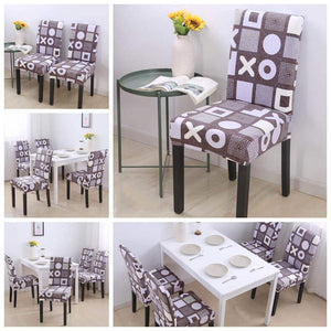 Magic Fit Stretch Dining Room Chair Covers