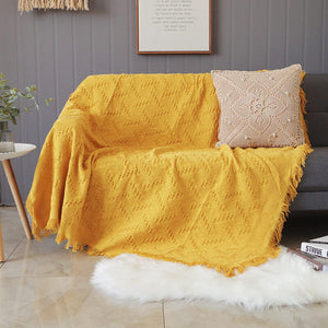 Geometrical Sofa Covers Blanket for Living Room