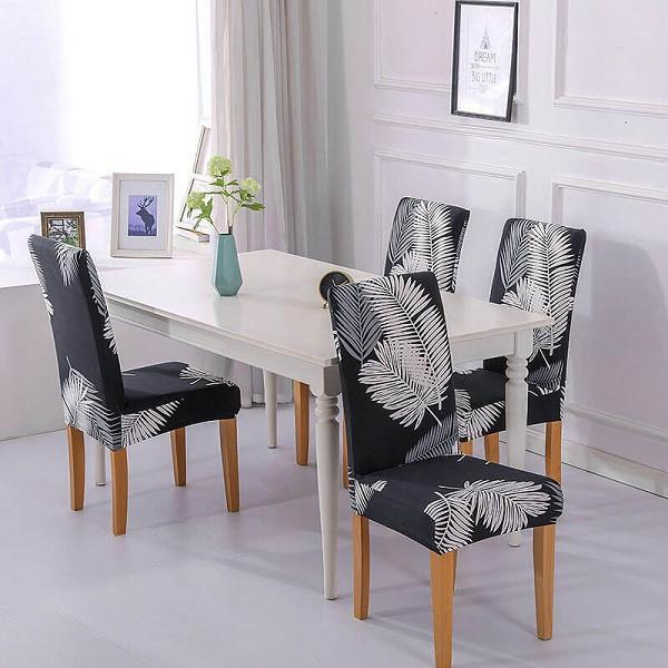 Chair Covers|Stretch Washable Dining Room Chair Covers|Kitchen & Dining Slipcovers|Soft Spandex Elastic Chair Cover|Seat Covers