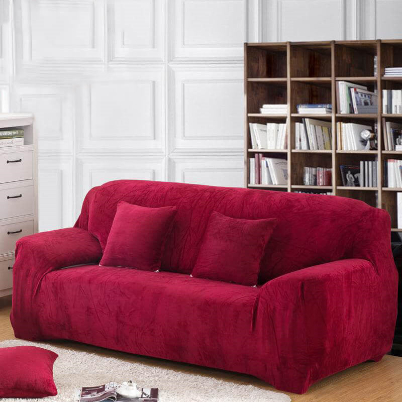 Stretch Thick Velvet Sofa Cover