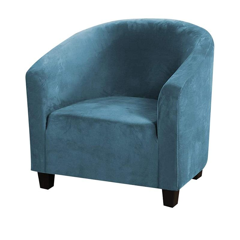 Velvet Club Chair Slipcover