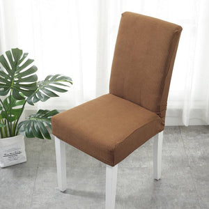 Waterproof Stretch Washable Removable Dining Room Chair Covers Banquet Chair Seat Protector Slipcover for Kitchen Home Hotel