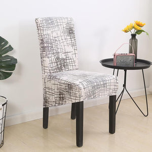 Printed XL Dining Chair Slipcovers