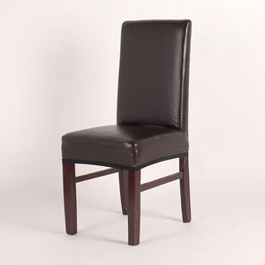 PU Leather Waterproof Dining Chair Covers