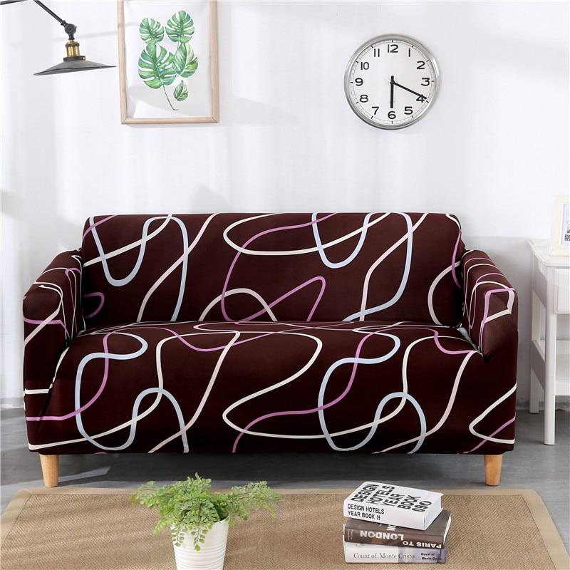 Sectional Sofa Covers|Universal Strechable Magic Fit Miracle Elastic Couch Cover,Slipcover