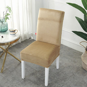 Velvet Stretchable Chair Covers