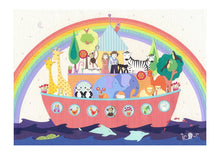 Load image into Gallery viewer, After The Rain - Noah's Ark Art Print