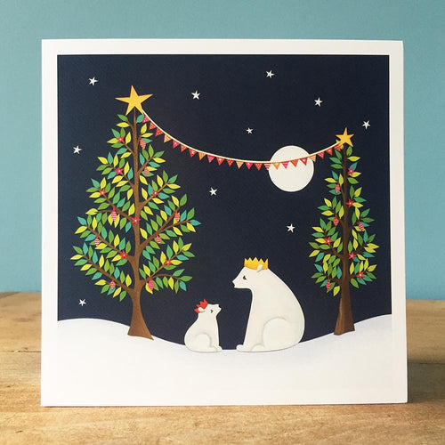 A Beary Merry Christmas - Christmas Card
