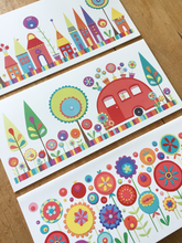 Load image into Gallery viewer, Set of 3 Colourful Cards