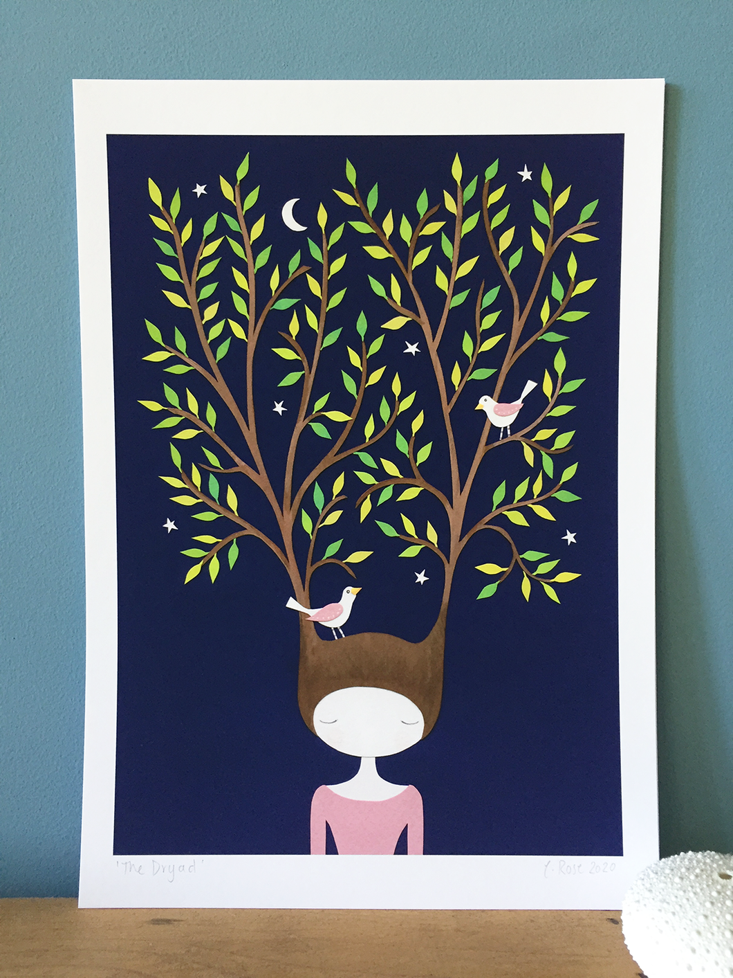 The Dryad - Art Print