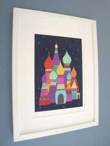 They Dreamt of Spires - Fine Art Print, St Basil's Cathedral