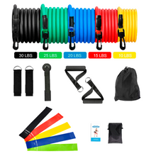 Load image into Gallery viewer, 17 in 1 Resistance Bands Training Set DIGxFIT