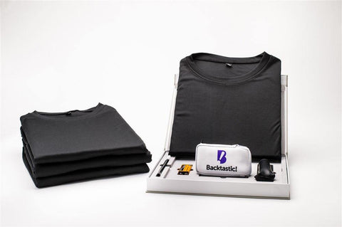 4-Pack Tee with Powered LumbarAir™ Support Unit - Fluid Health and Fitness