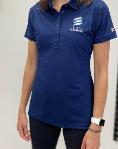 Women's Polo - Fluid Health and Fitness