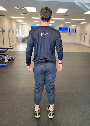 F=MA Long Sleeve Tech Tee - Fluid Health and Fitness