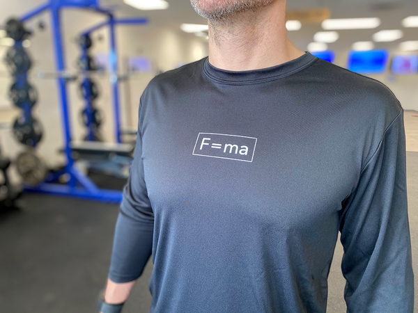F=MA Long Sleeve Tech Tee