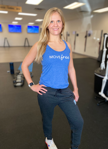 Move FREE Racerback Tank - Fluid Health and Fitness