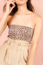 Load image into Gallery viewer, Top bandeau leopard