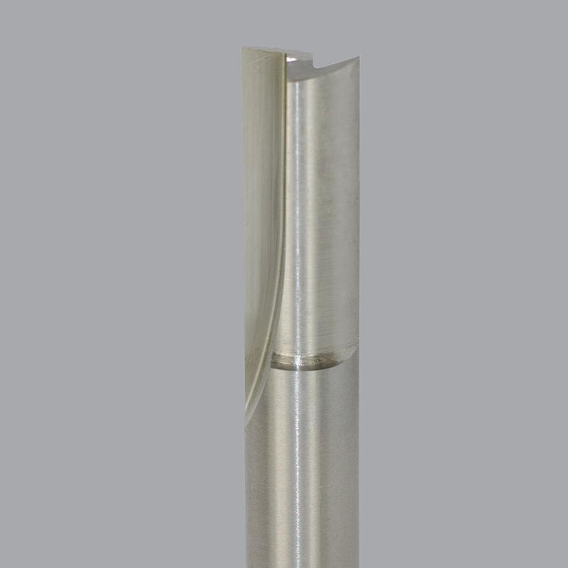 Onsrud 12-79 <br/>1/4'' CD x 1'' LoC x 1/4'' SD x 3-1/4'' OAL<br/>2 Flute - High Speed Steel Straight V Flute