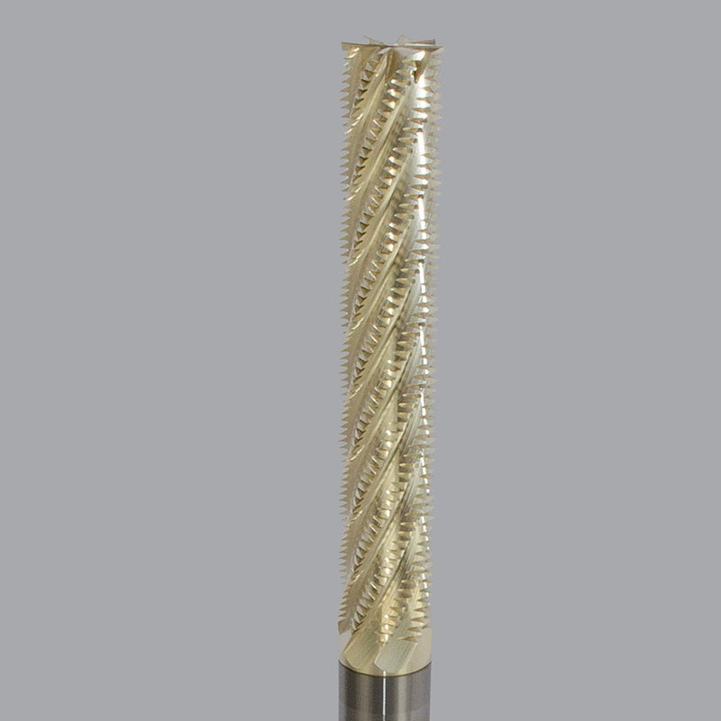 "Onsrud 29-125<br/>1/2"" (12.7mm) CD x 3"" LoC x 1/2"" SD x 6"" OAL<br/> Solid Carbide Honeycomb Hogger with ZRN Coating"