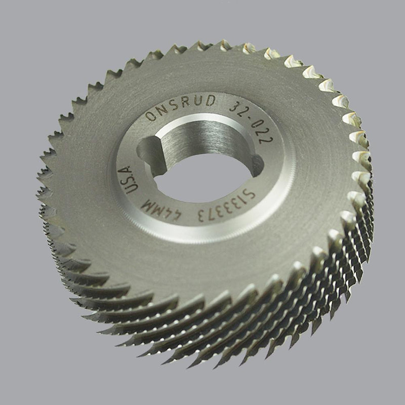 Onsrud 32-032<br/>61.5mm CD x 16mm LoC x 16mm SD<br/>High Speed Steel Honeycomb Cutter