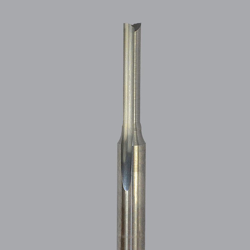 Onsrud 56-434<br/>8mm CD x 25mm LoC x 8mm SD x 76mm OAL<br/>2 Flute – Solid Carbide O Flute Straight Router Bit