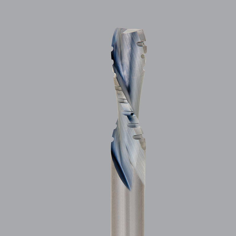 Onsrud 60-308<br/>3/8'' CD x 1-1/8'' LoC x 3/8'' SD x 3'' OAL<br/>2 Flute – Solid Carbide Downcut Spiral Chipbreaker Finisher