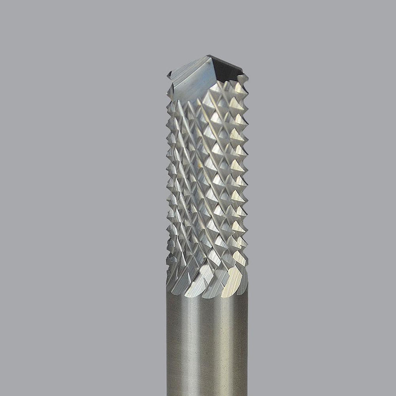 Onsrud 67-093<br/>8mm CD x 25mm LoC x 8mm SD x 63mm OAL<br/>Multi-Flute - Solid Carbide Fiberglass Composite Fine Burr Router; Drill point