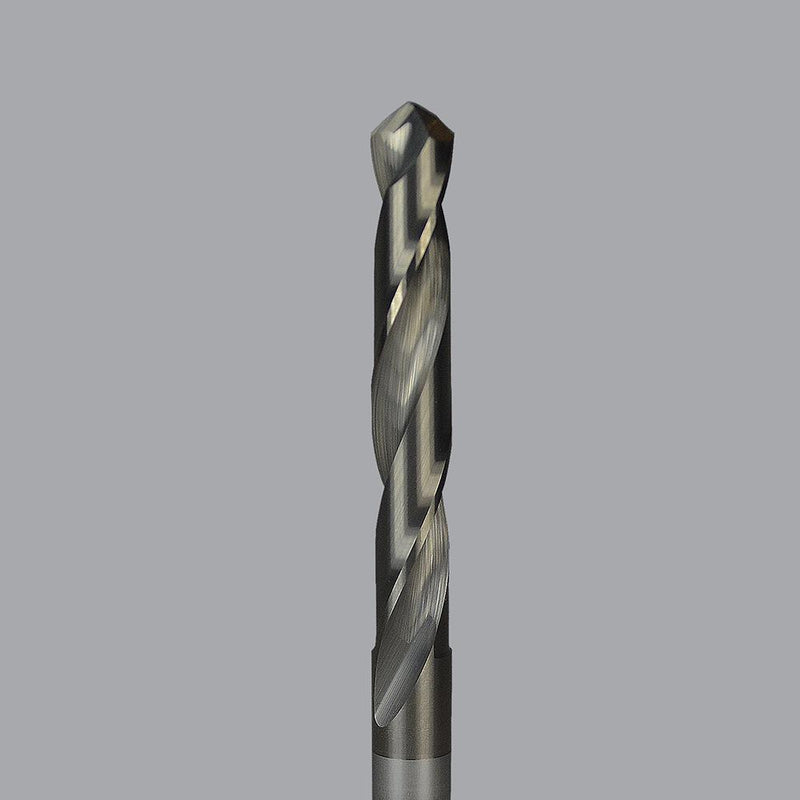 "Onsrud 67-872<br/>0.386"" CD x 2-7/8'' LoC x 0.386"" SD x 4-1/2'' OAL<br/>2 Flutes - Solid Carbide 8 Facet Drills - W Letter Drills"