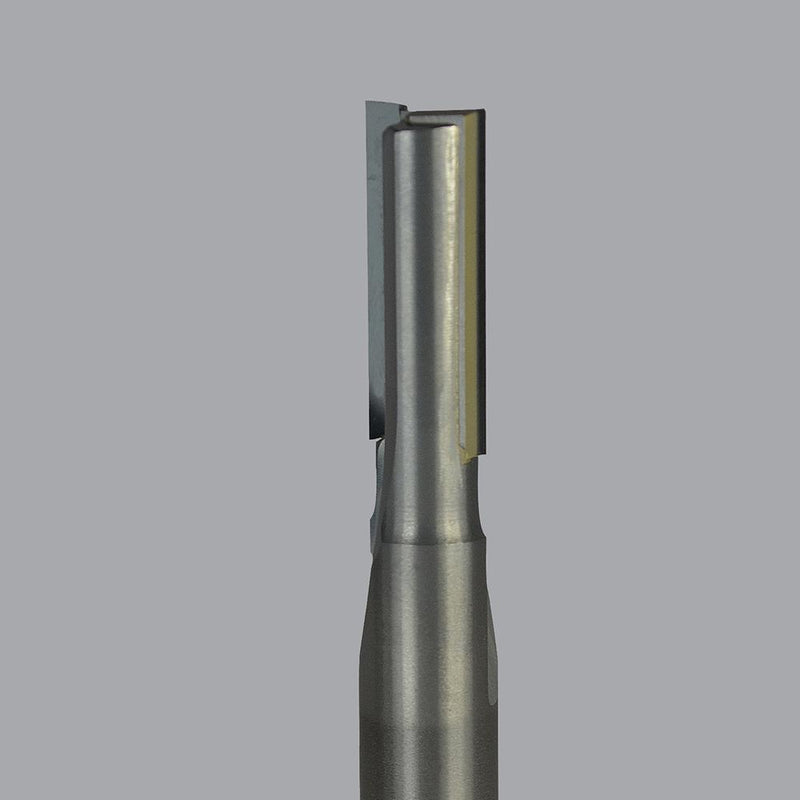 Onsrud 68-055<br/>3/8'' CD x 7/8'' LoC x 3/8'' SD x 3'' OAL<br/>2 Flute - Straight PCD Tipped Router Bit with Plunge Point