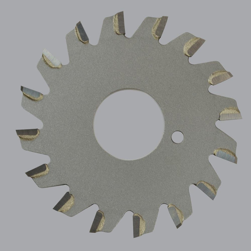 "Onsrud 70-128<br/>4"" CD x 0.095"" Kerf x 0° Rake x 20 Teeth<br/>Carbide Tipped Trim Blade for Soft Plastic, TCG Grind, Fast Feed; Requires 70-180 or 70-181 Arbor"