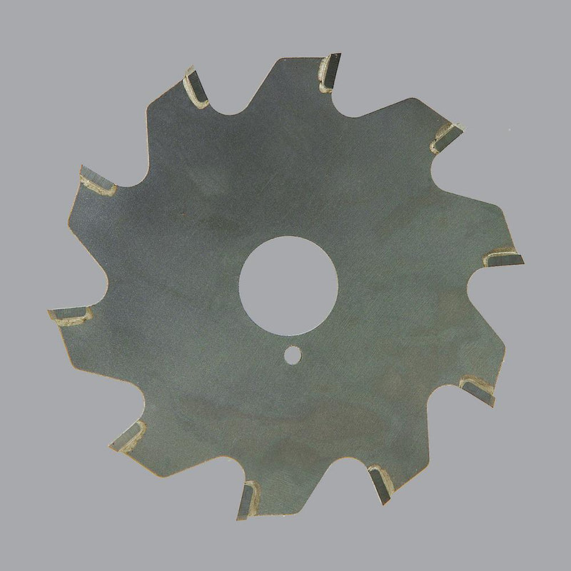 "Onsrud 70-108<br/>4"" CD x 0.095"" Kerf x 0° Rake x 10 Teeth<br/>Carbide Tipped Trim Blade for Soft Plastic, TCG Grind, Slow Feed; Requires 70-180 or 70-181 Arbor"
