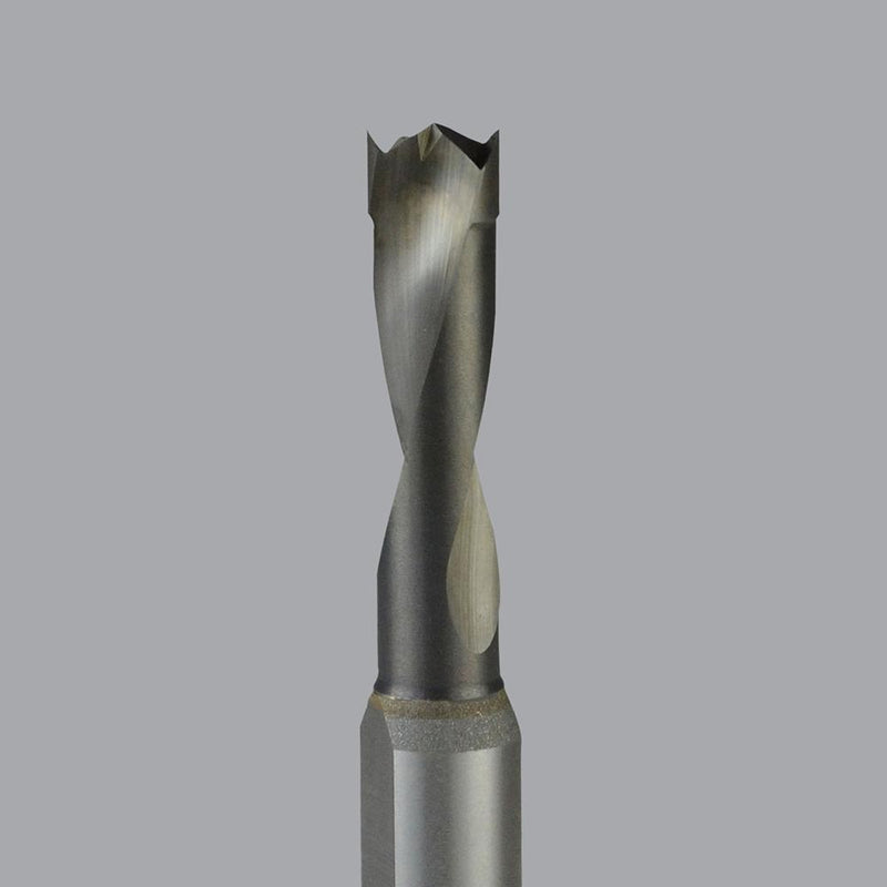Onsrud 72-006<br/>5mm CD x 30mm LoC x 10mm SD x 57mm OAL<br/>2 Flutes – Solid Carbide Boring Bit; LH Brad Point