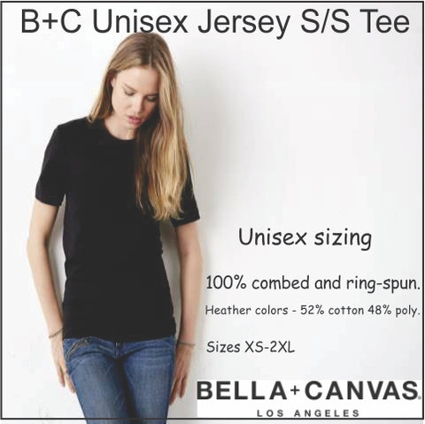 Bella + Canvas Unisex t-shirt